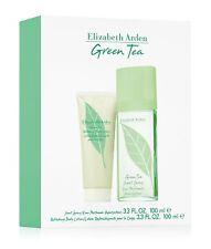 Elizabeth Arden Green Tea EDP Spray 100ml & Body Lotion 100ml Gift Set *Sealed*