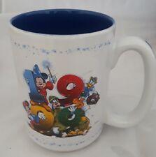 Disney Parks 1999 Coffee Tea Mug Mickey Minnie Mouse Goofy Pluto Donald Duck