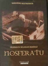 NOSFERATU DVD VERSIONE INTEGRALE FRIEDRICH WILHEM MURNAU NUOVO SIGILLATO