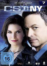 CSI : NY NEW YORK DIE KOMPLETTE DVD SEASON / STAFFEL 7 DEUTSCH