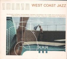 CD COMPIL DIGIPACK 13 TITRES--WEST COAST JAZZ--BRUBECL/PEPPER/HAWES/BAKER/CARTER