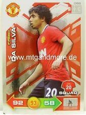 Adrenalyn XL Manchester United 11/12 - #069 Fabio Da Silva - Special