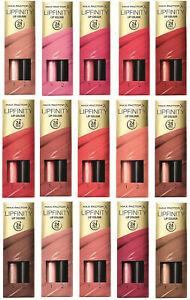 Max Factor Lipfinity Lipstick: **127 SO ALLURING & 335 JUST IN LOVE**