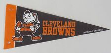 "NFL Cleveland Browns - Mini 9"" Football Pennant Rico Tag Express"