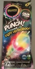 Illooms LED Punch! Light Up Balloon 1 Pack Color Changing NEW 15 Hours Of Light