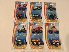 NEW Blaze & The Monster Machines MINI Cars trucks SET of 6 skunk crab slop ant
