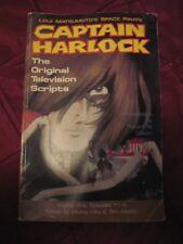 1990 CAPTAIN HARLOCK Leiji Matsumoto's SpacePirate TV Scripts Book-1st Printing