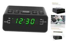 New Listing Digital Alarm Clock Radio, Alarm Clocks for Bedrooms with Am/Fm Radio, Sleep Ti