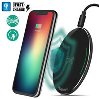 For Samsung Galaxy S9/S9 Plus Qi Wireless Fast Charger Charging Pad Plate Matte