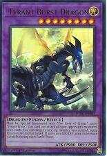 Yu-Gi-Oh: TYRANT BURST DRAGON - LCKC-EN063 - Ultra Rare Card - 1st Edition