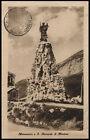 cartolina AOSTA piccolo s.bernardo-monumento a s.bernardo di mentone