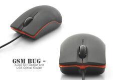 USB Mouse Style GSM SIM Card Spy Ear Bug Audio Listening Device Surveillance