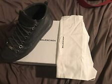 Men's Balenciaga Arena High-Top Sneakers Size EU 47/ US 13