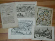 306-SAVOIE: Rapport sur la réunion de la Savoie à la France 1792  1 carte + 3 gr
