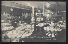 Postcard SALEM/ALLIANCE Ohio/OH Oriental Company Cash Store Interior view 1907