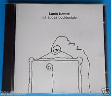 cd raro compact disc 1990 lucio battisti pasquale panella la sposa occidentale