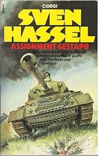 Assignment Gestapo by Sven Hassel (Corgi Paperback edition)