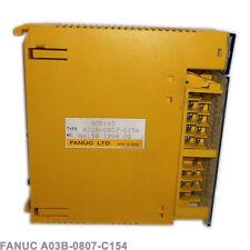 FANUC DIGITAL OUTPUT MODULE AOD16D 16PT, 12-24VDC, 0.5A, POS A03B-0807-C154