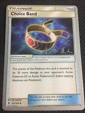 Pokemon TCG : 4 X CHOICE BAND 121/145 World Championship PROMO Uncommon