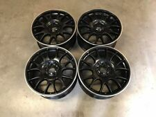 "18"" BBS CH Style Alloy Wheels Black Machined Audi A3 A4 A6 Golf MK5 6 7 5x112"