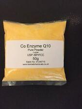 COQ10 POWDER Coenzyme Q10 PURE POWDER Antioxidant & Heart Health 50g