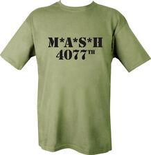 Camisetas de hombre verde 100% algodón talla XL