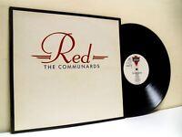 THE COMMUNARDS red LP EX/EX LONLP 39, with lyric inner sleeve, vinyl, album, uk