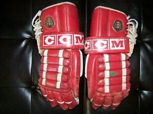 Vintage CCM Hockey Gloves Model # HG1