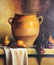 Still Life,Original Oil Painting by P. Hays, 61 X 51cm