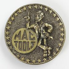 VINTAGE BELT BUCKLE ~ MAC TOOLS SERVICE MECHANIC~Limited Edition Exclusive~Brass