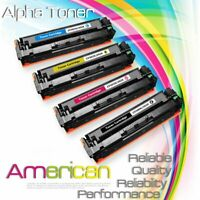4x High Yield CF500X 202X Color Toner Set for HP LaserJet M254dw M281fdw M281cdw