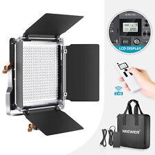 480 LED Video Light bicolor con pantalla LCD y control remoto inalámbrico 2.4G