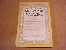 National Geographic July 1926 Iceberg Waterfalls India River Kodak Ads
