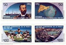 Chile 1988 #1318-21 Isla de Pascua Easter Island MNH