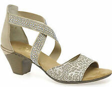 Cuban Heel Women's Strappy Sandals and Beach Shoes