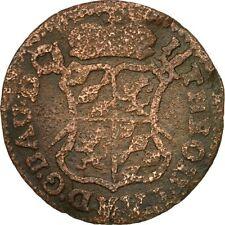 [#508232] LIEGE, John Theodore, Liard, 1750, Liege, VF(20-25), Copper, KM:155