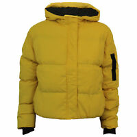Ladies Jacket Brave Soul Womens Coat Hooded Padded Quilted KAREN Winter Casual
