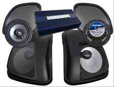 HOGTUNES FRONT, REAR, AMP, AND SPEAKER LIDS KIT FOR HARLEY 2015-2017 ROAD GLIDE