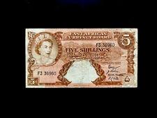 British Ostafrika (P037) 5 Shillings 1958 F+