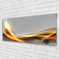 Imagen en vidrio Impresión Cuadro de 125x50 Abstracto Arte