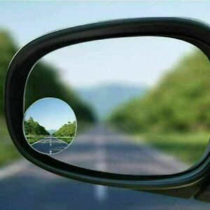 BLIND SPOT MIRRORS FOR CAR VAN BIKES WIDE ANGLE CAR WING MIRROR ADHESIVE x 2