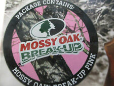 BREAK-UP PINK Camo RIFLE Wrap Mossy Oak Water-proof Vinyl Skin Hunting