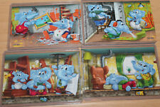 Superpuzzle - Die Heimwerker Elefanten + alle 4 BPZ