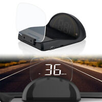 C700S LED Digital HUD OBD2 GPS Head Up Display Projection Overspeed Alerting