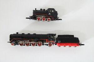 8579/3- Zwei Märklin Spur Z Dampfloks