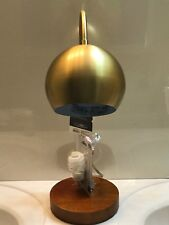 Threshold Task Lamp *NEW* Brass with Wood base 1 Lightbulb included