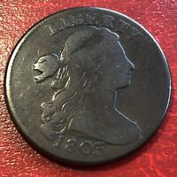 1803 Draped Bust Large Cent Better Grade  Rare #13638