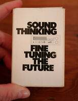 """Vintage 70s """"Sound Thinking Fine Tuning The Future"""" Stereo Custom Playing Cards"""