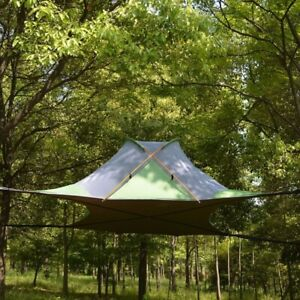 Outdoor Suspended Tree Tent Ultralight Hanging Tree House Camping Hammock Tent