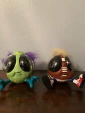 1999 interactive Ooglies toys from playmates lot of 2 football